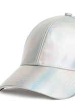 Shimmering cap - Silver - Ladies | H&M IE 3