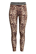 Patterned leggings - Leopard print - Ladies | H&M CA 2