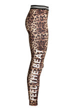 Patterned leggings - Leopard print - Ladies | H&M CA 3