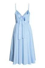 Cotton dress - Light blue/Spotted - Ladies | H&M CN 3