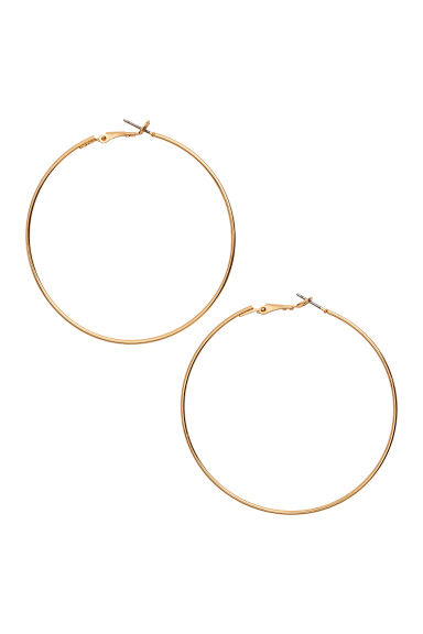 Hoop earrings - Gold - Ladies | H&M 1
