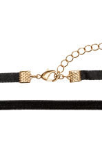 Choker in velluto - Nero - DONNA | H&M IT 2