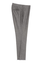 Suit trousers Skinny fit - Black/White marl - Men | H&M 3