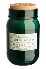 Candela profumata in vasetto - Verde scuro/Tomato blossom - HOME | H&M IT 1
