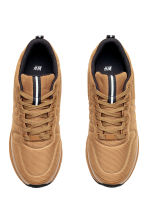 Mesh trainers - Light brown - Men | H&M 2