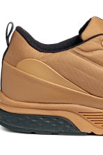 Mesh trainers - Light brown - Men | H&M 4