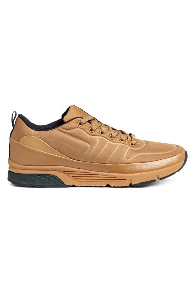 Mesh trainers - Light brown - Men | H&M 1