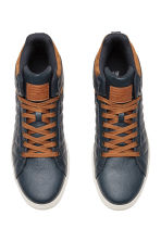 High Tops - Dark blue - Men | H&M CA 2