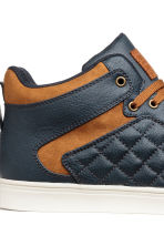 High Tops - Dark blue - Men | H&M CA 4