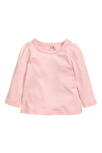 Top en jersey - Rose clair -  | H&M FR 1