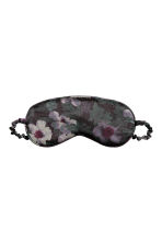 Sleep Mask - Black/floral - Home All | H&M CA 1