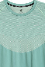 Seamless running top - Mint green - Men | H&M 3