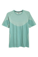 Seamless running top - Mint green - Men | H&M 2