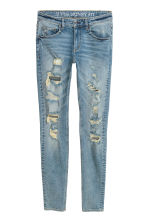 Super Skinny Trashed Jeans - Bleu denim clair - HOMME | H&M FR 2