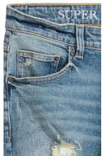Super Skinny Trashed Jeans - Bleu denim clair - HOMME | H&M FR 4