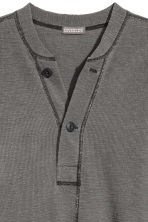 Henley top - Dark grey - Men | H&M 3