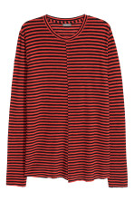Red/Black striped
