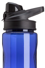 Water bottle with a lid - Bright blue - Men | H&M GB 2