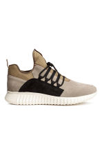 Suede trainers - Beige - Men | H&M CN 2