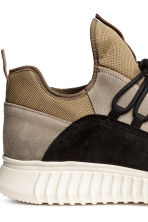 Suede trainers - Beige - Men | H&M CN 5
