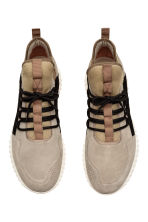 Suede trainers - Beige - Men | H&M CN 3