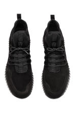 Suède sneakers - Zwart - HEREN | H&M BE 2
