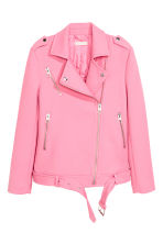 Biker jacket - Pink - Ladies | H&M 2