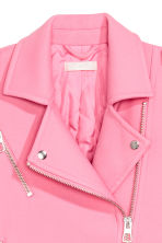 Biker jacket - Pink - Ladies | H&M 3