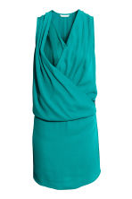 MAMA Nursing dress - Turquoise - Ladies | H&M 3
