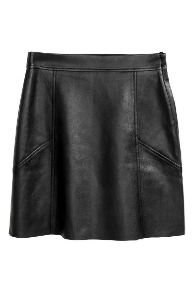 Short skirt - Black - Ladies | H&M