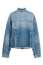 丹寧外套 - Denim blue - Ladies | H&M 3
