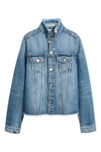 Denim jacket - Denim blue - Ladies | H&M CN 2