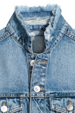 Denim jacket - Denim blue - Ladies | H&M CN 4