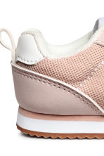 Mesh trainers - Powder pink - Kids | H&M 4