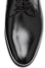Leather Derby shoes - Black - Men | H&M 3