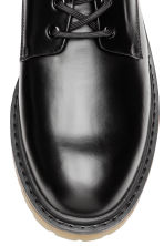 Derby shoes with chunky soles - Black - Men | H&M GB 3