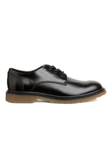 Derby shoes with chunky soles