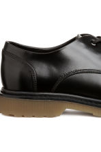 Derby shoes with chunky soles - Black - Men | H&M GB 4