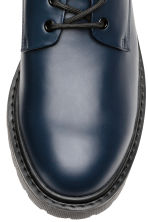 Derby shoes with chunky soles - Dark blue - Men | H&M CN 3