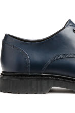 Derby shoes with chunky soles - Dark blue - Men | H&M CN 4