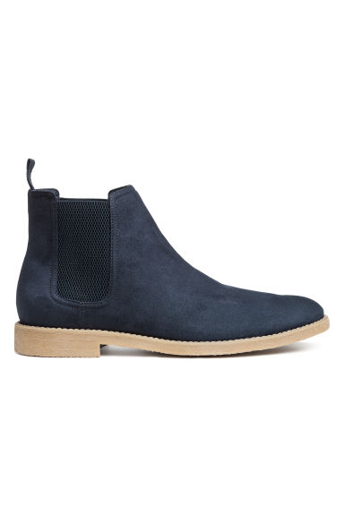 Chelsea boots - Dark blue - Men | H&M
