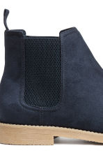 Chelsea boots - Dark blue - Men | H&M 4