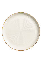 Plat en porcelaine - Blanc - Home All | H&M FR 1