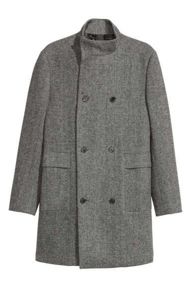 Wrapover coat Model