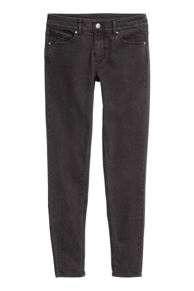 Stretch trousers - Black denim -  | H&M CN