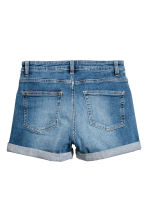 Shorts in denim - Blu denim - DONNA | H&M IT 3
