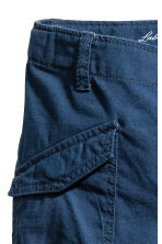 Cotton cargo pants - Dark blue - Kids | H&M 3