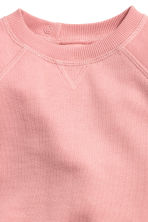 Flounced-hem sweatshirt - Powder pink - Kids | H&M 2