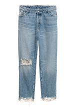 H&M+ Vintage High Ankle Jeans - 浅牛仔蓝 - Ladies | H&M CN 2
