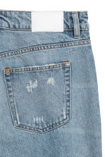 H&M+ Vintage High Ankle Jeans - 浅牛仔蓝 - Ladies | H&M CN 3
